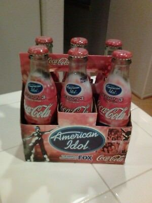Coca Cola American Idol Unopened 8oz Six Pack