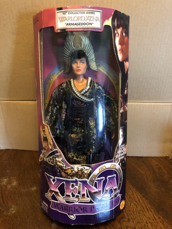 "Warlord Xena 12"" Collectable Doll ""Armageddon"". New 1998 Toy Biz Warrior Princes"