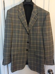 Hickey Freeman 3-button Sports Jacket 40R EUC MSRP US$1295