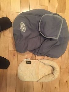 Car seat cover for winter & pillow cover