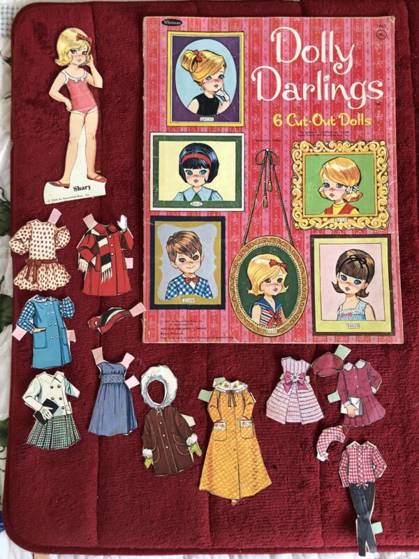 Vintage 1966 Dolly Darlings Clothes