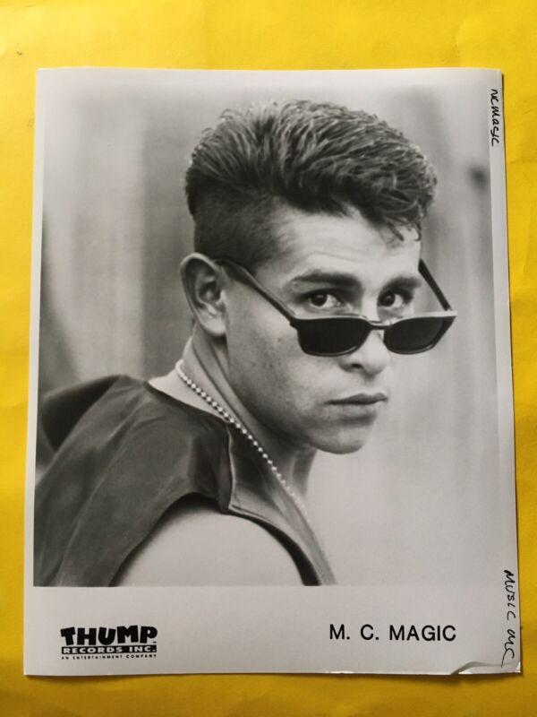 """MC Magic Press Photo 8x10"""", Thump Records."""