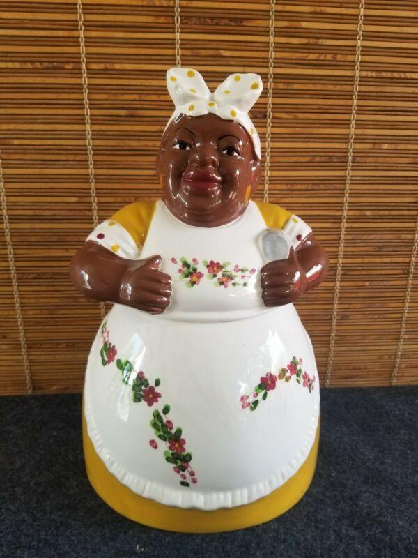 Black Mammy Cookie Jar