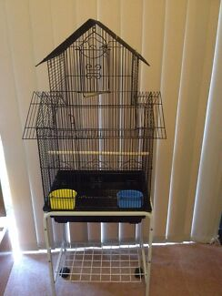 Two level bird cage with stand  Hoppers Crossing Wyndham Area Preview