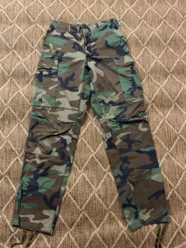 ARMY COMBAT CARGO TROUSERS Mens XL 38w desert camo ops Military sand camouflage