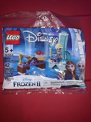 LEGO Disney Frozen 2 Elsa's Winter Throne Polybag 30553 New Sealed Minifig