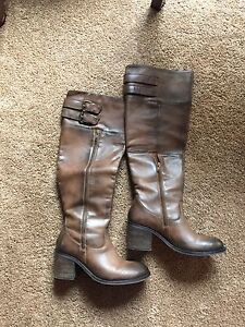 Women's talk Leather boots