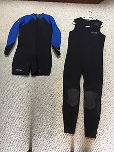 Bare wetsuit, gloves and hood
