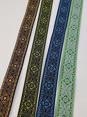 Medieval Folk Fabric Woven Trim 5 8 Inch Wide By The Yard