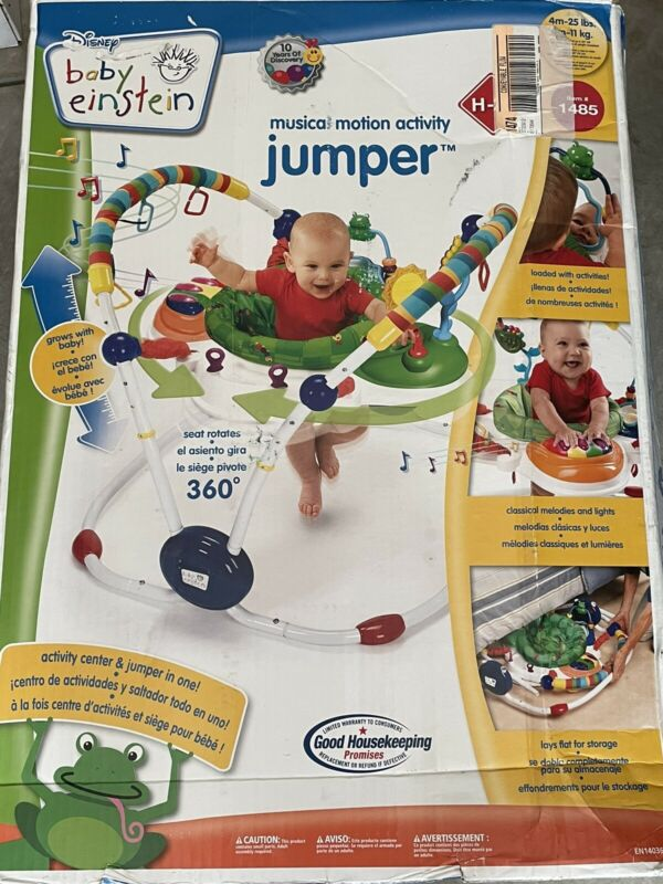 baby Einstein musical motion activity jumper disney