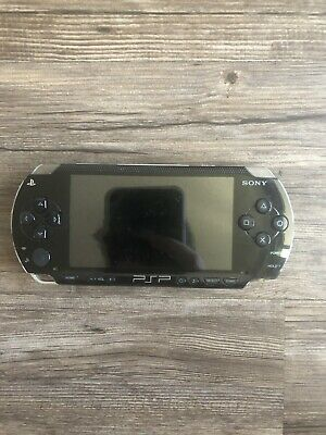 PSP Sony PlayStation Portable Black No charger used Not Tested No Extras