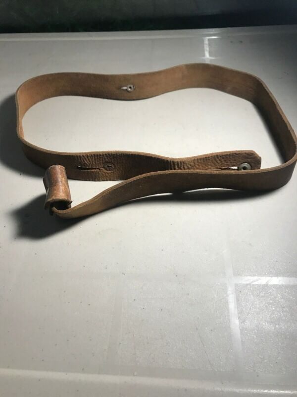British? Tan Leather Enfield? Rifle Sling