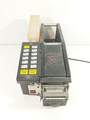 Marsh Electra Electric Gummed Taper Water Activated Tape Dispensercable