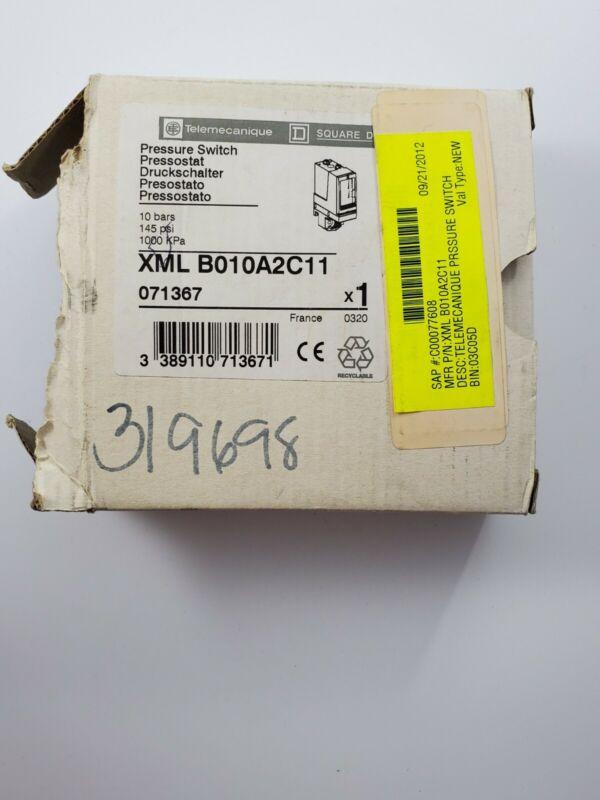 SCHNEIDER ELECTRIC TELEMECANIQUE XML B010A2C11 PRESSURE SENSOR *New Old Stock*