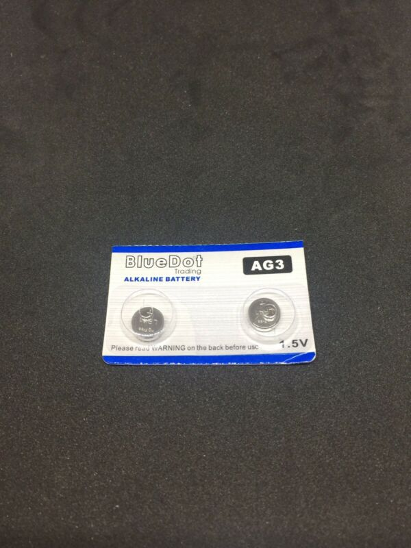 2 - Pack  NEW  ( AG3 ) LR41 392A 192 SR41 LR736 CX41 392 BATTERY Batteries