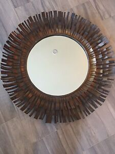 Large metal mirror from Pier one