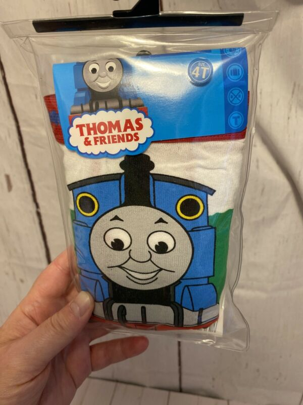 Thomas the Train Tank & Friends Underwear 4T 3 Pair by Hanes * NEW