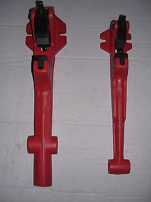 Two Foot Vise No Pipe Wrench 12-2 Ridgid 65r Pipe Threader 811 815 11r 12r