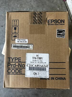 Epson Tm-t88v Point Of Sale Thermal Printer