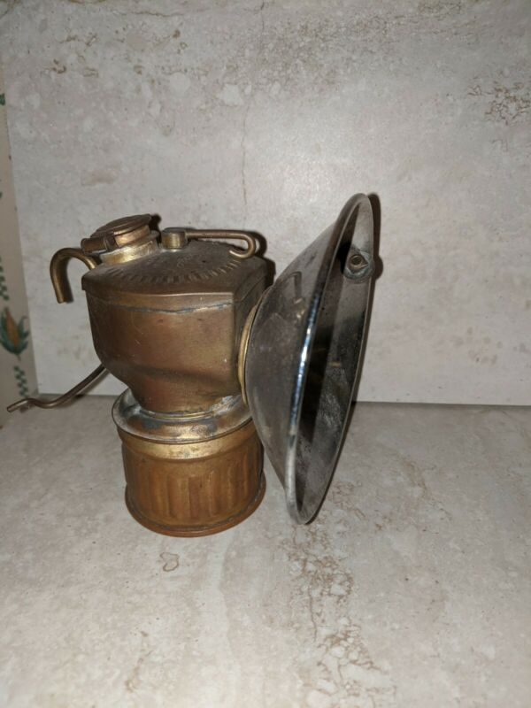Justrite Carbide Miners Lamp