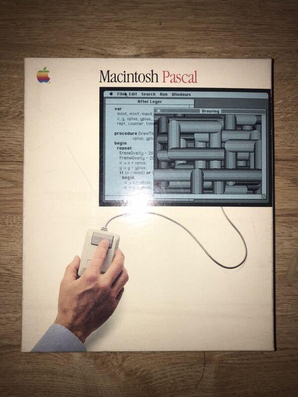 Rare Vintage 3 Apple Macintosh User