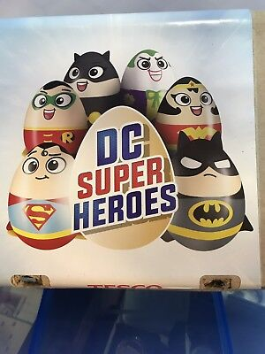 Very Rare Set Of Six Official Licensed DC Super Heroes. Egg Plush. 15cm BNWT