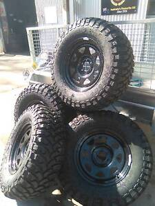 4WD OFFROAD, ALL TERRAINS TYRES & RIMS PACKAGE - JAN HOT DEAL!!! Archerfield Brisbane South West Preview