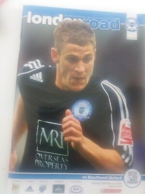 Peterborough United v Southend United, 2008-09