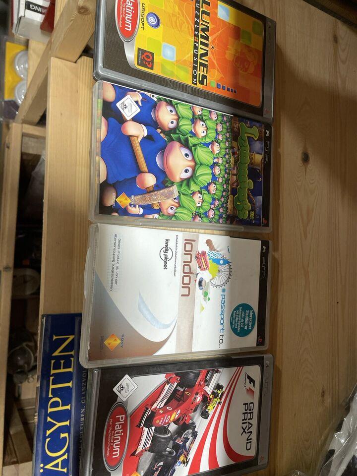 PSP Spiele 4 Stück zusammen 8€ in Essen - Essen-Frintrop