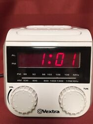 Vextra WM2412 iPod Compatible Docking Station am fm clock radio player 960182