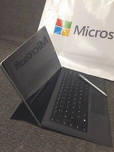 Brand New Surface Pro 3 with MS warranty, used Type Cover&Pen