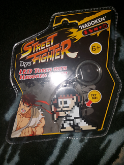 STREET FIGHTER Keyring Torch