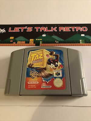 Taz Express Pal Nintendo N64 Cart Only