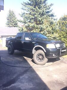 2006 f150 fx4 levelled, leather