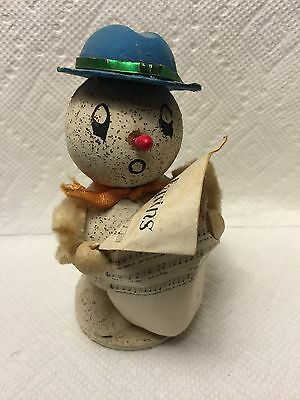 OLD SINGING CHRISTMAS SNOWMAN..JAPAN