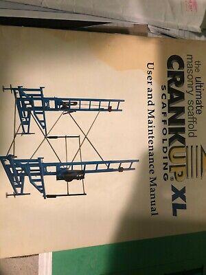 5 Plank Xl Heavy Duty Crank Up Scaffolding