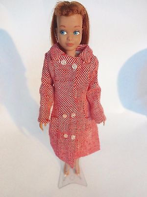 Vintage Francie Shoppin' Spree #1261 (1966) Dress and Coat only - no doll