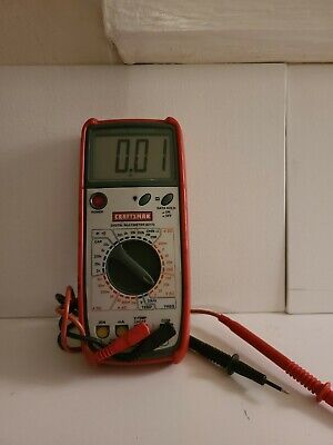 Craftsman 82170 Digital Multimeter. Testedworking