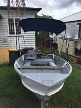 3.7M TINNY. 15HP Mariner Ashgrove Brisbane North West Preview