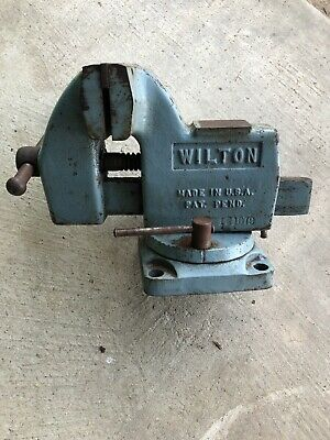 Vintage Wilton Swivel Base Tilting Vise Gunsmith Machinists Mechanic 4 Jaws