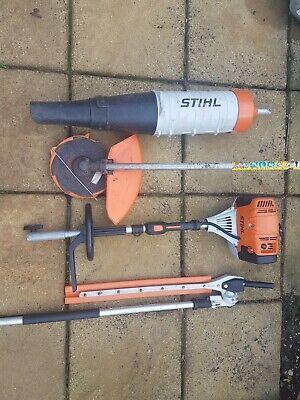Stihl KM131 Combi Hedge Trimmer, Strimmer, Blower Attachment