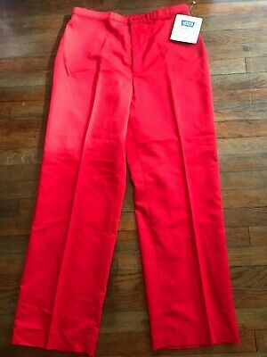 VINTAGE Levi Strauss & Co. Women's Bend Over Pants Red Sz 20 (Women Bend)
