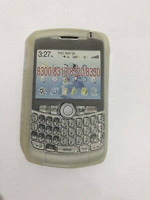 BlackBerry Curve 8300 8310 8320 8330 Gel Case Skin Front Back Cover Fascia Clear 8330 Gel