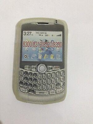 8330 Gel (BlackBerry Curve 8300 8310 8320 8330 Gel Case Skin Front Back Cover Fascia Clear)
