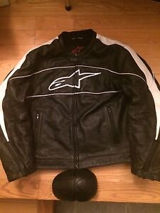 Alpinestars Leather Riding Jacket XL