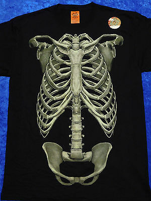 Skeleton Bones Halloween T-Shirt S-3XL