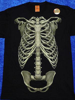 Skeleton Bones Halloween T-Shirt S-3XL (Bones Halloween)