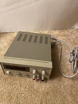 Hp Agilent E3612a Variable Dc Bench Power Supply 0-60v.5a 0-120v.25a