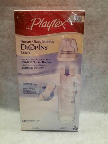 Playtex Nurser Drop-Ins Liners 2 - 8 Ounce with Free Nurser