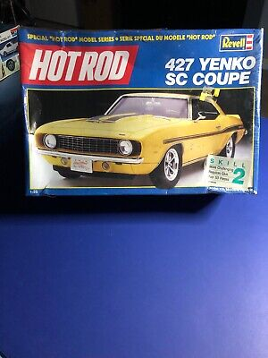 "Revell HOT ROD ""427 ""YENKO SC COUPE CAMARO 1:25 7132 Factory Sealed In 1990"